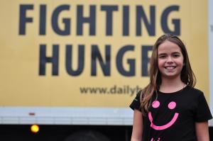 Sarah Fighting Hunger photo